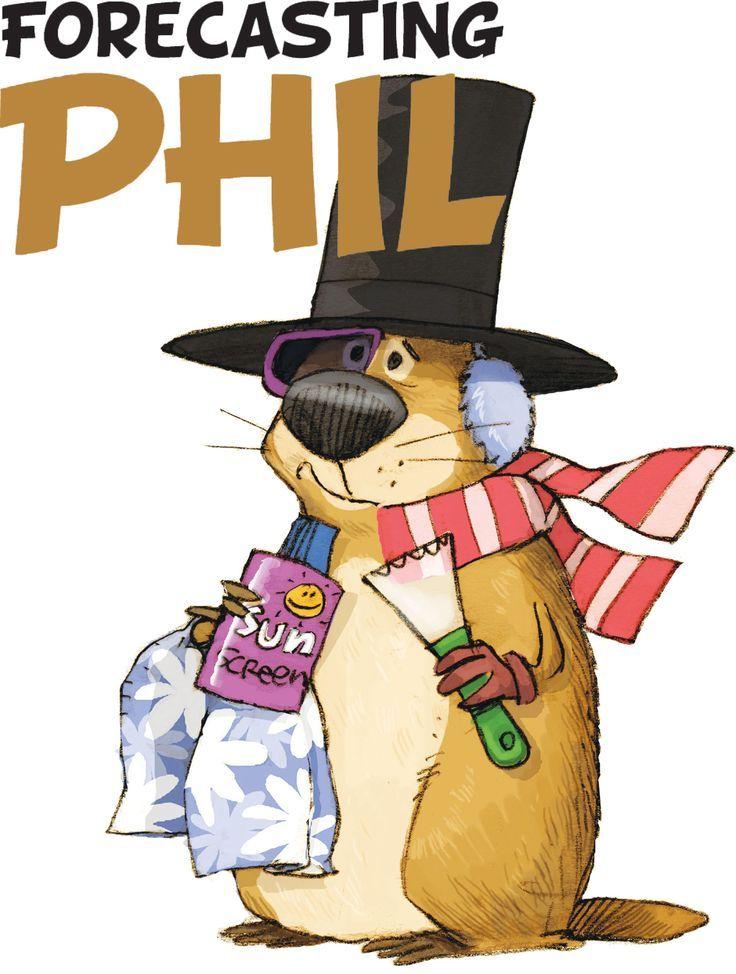 Картинки по запросу groundhog phil clipart